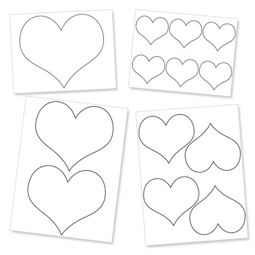 Free Heart Outlines, Download Free Clip Art, Free Clip Art
