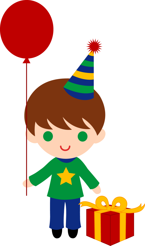 Little Birthday Boy Clip Art - Free