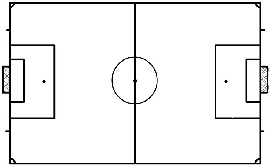 blank football formations diagrams