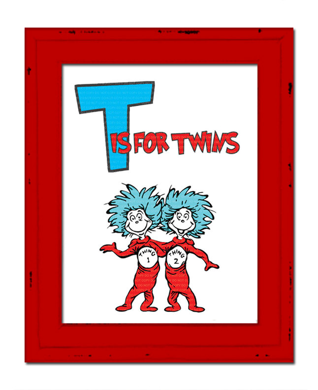 Thing 1 And Thing 2 Clip Art : thing, Seuss, Thing, Library