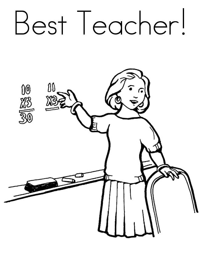 Free Teacher Drawing, Download Free Clip Art, Free Clip
