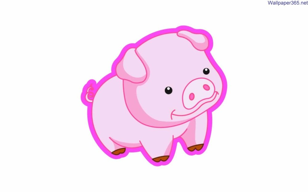 medium resolution of cartoon pig clipart
