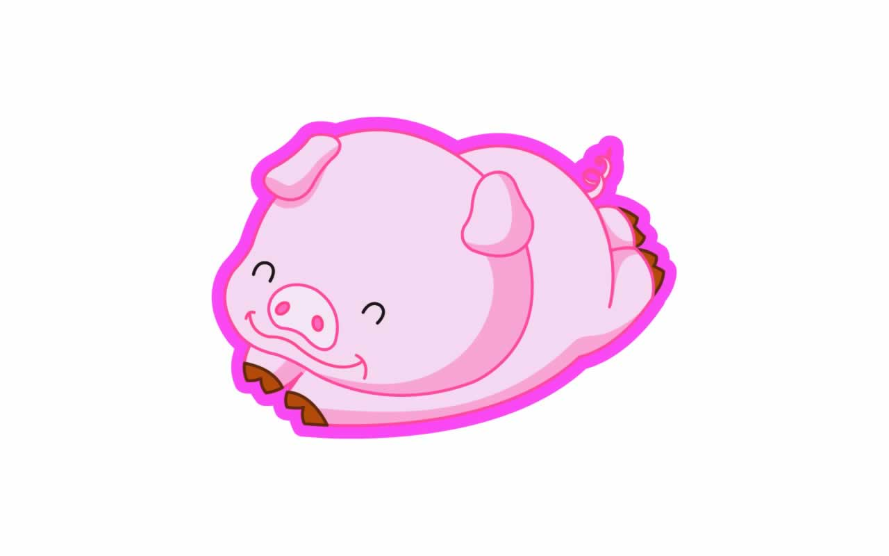 hight resolution of cartoon pig wallpaper 14727 hd wallpapers in animals