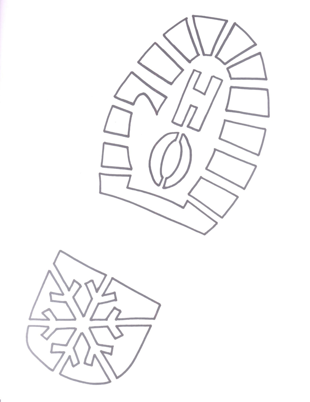 Free Footprint Template Download Free Clip Art Free Clip Art On Clipart Library