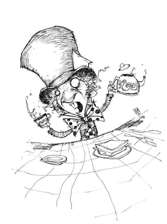 Free Mad Hatter Cartoon, Download Free Clip Art, Free Clip