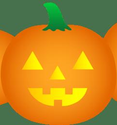 halloween pumpkin border clip art clipart library free clipart [ 6269 x 3142 Pixel ]
