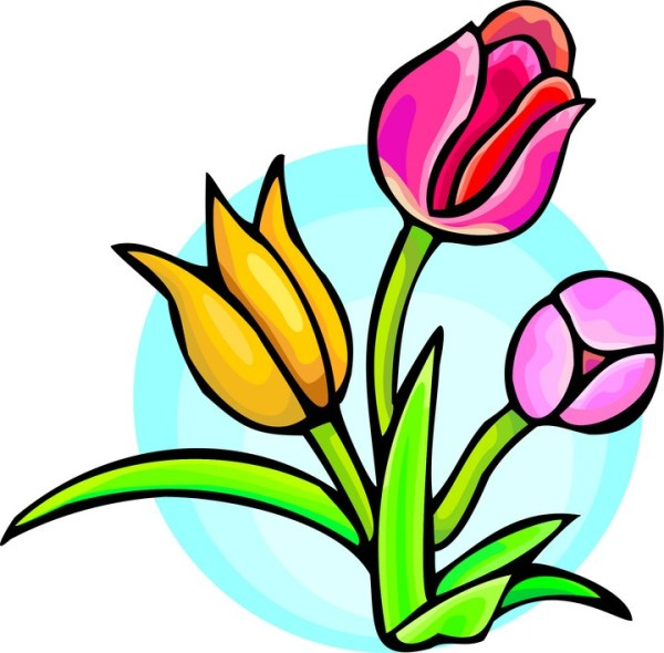 spring flower graphics