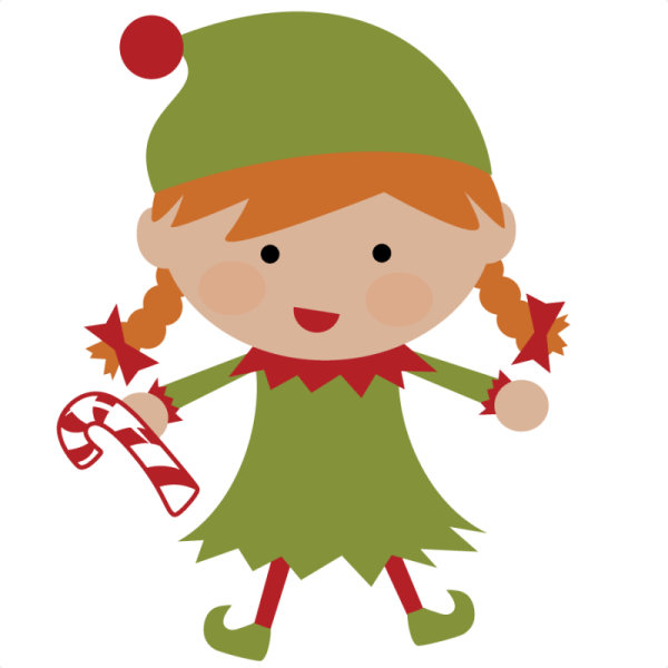 Free Of Girl Elves Clip Art