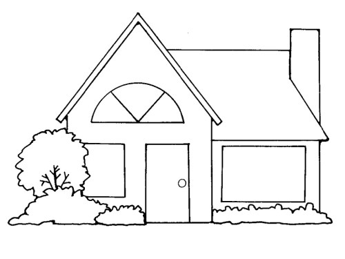 small resolution of brick house clipart black and white home design plan
