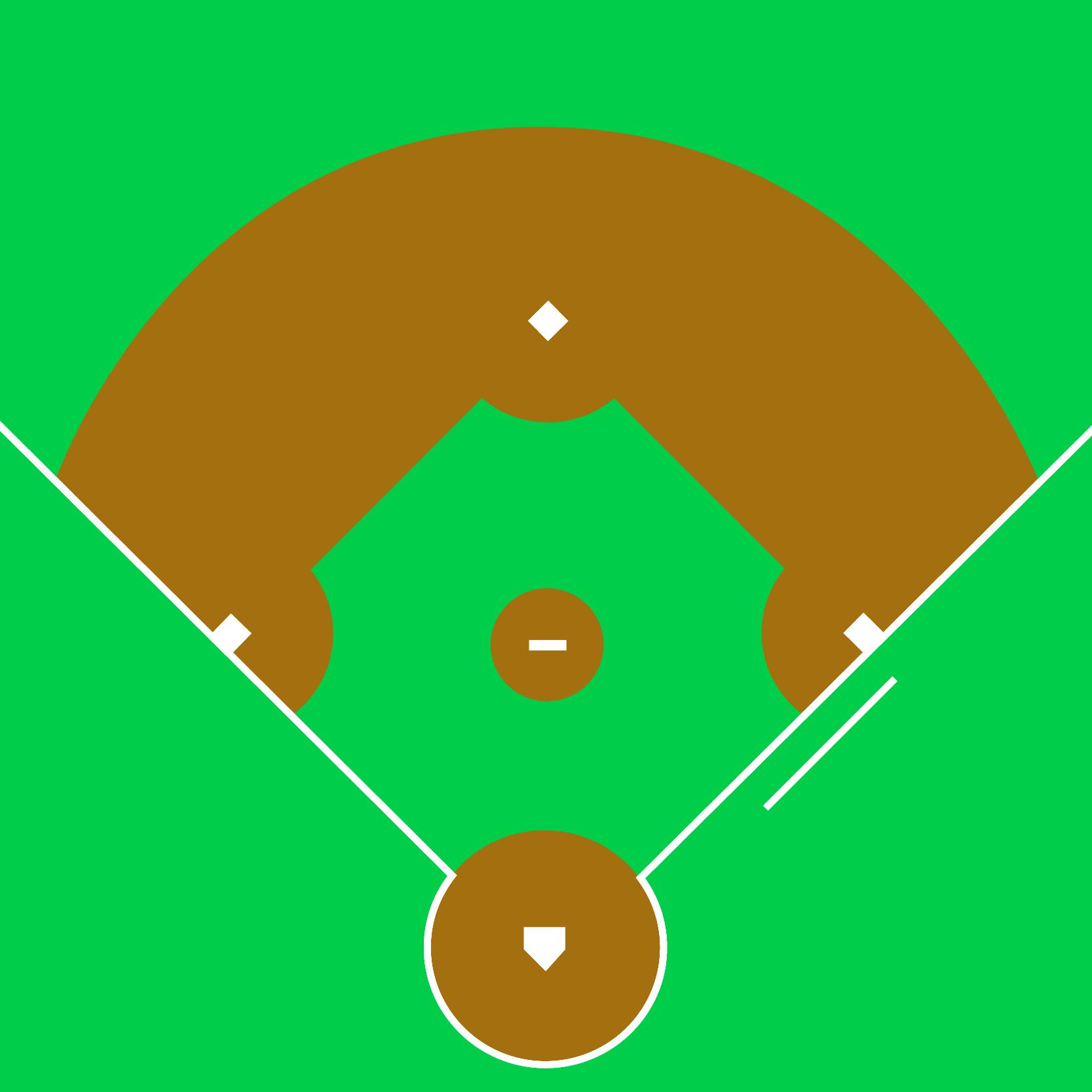 Free Blank Baseball Field Diagram Download Free Clip Art