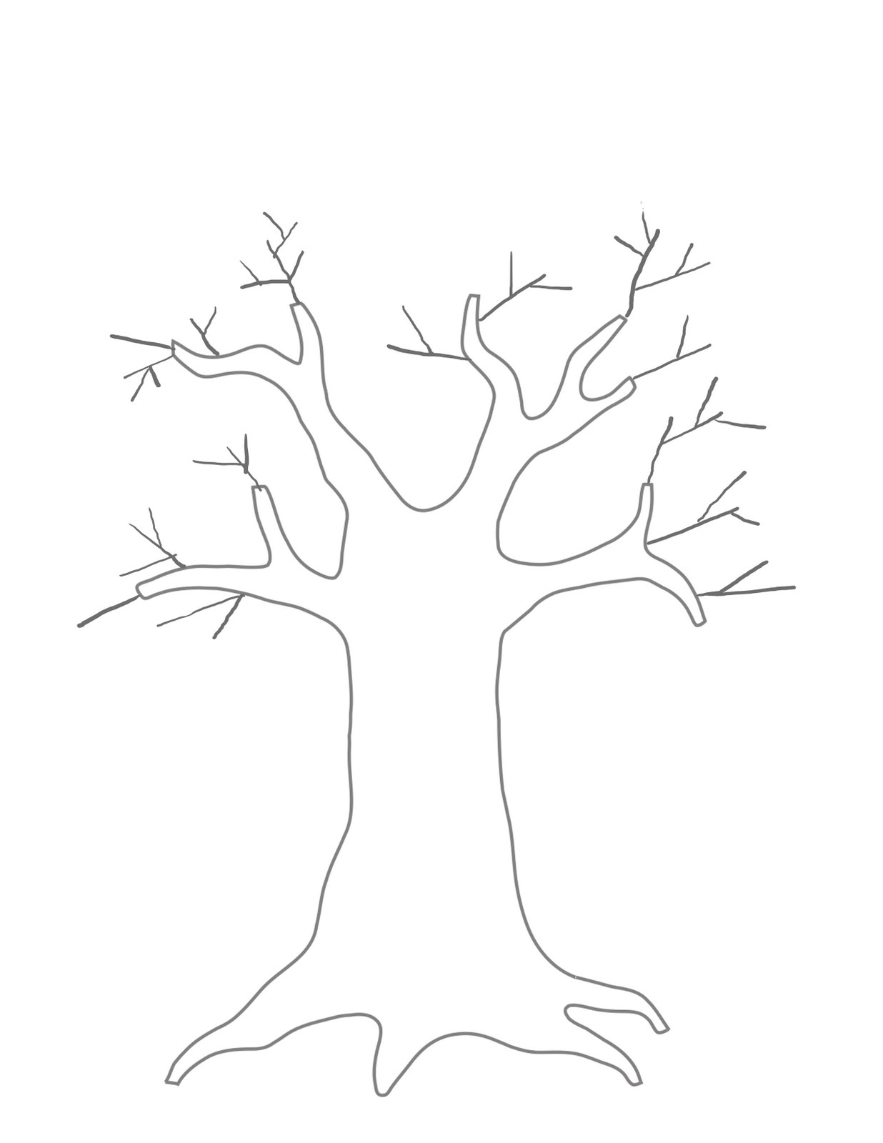 Free Tree Template, Download Free Clip Art, Free Clip Art