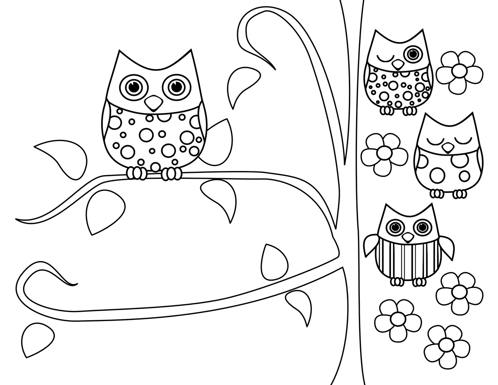 Free Cute Baby Owl Coloring Pages Download Free Clip Art