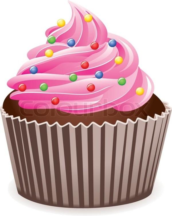 free pink cupcake