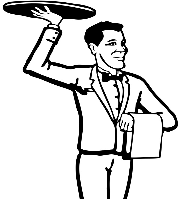 Free Waiter Pictures, Download Free Clip Art, Free Clip