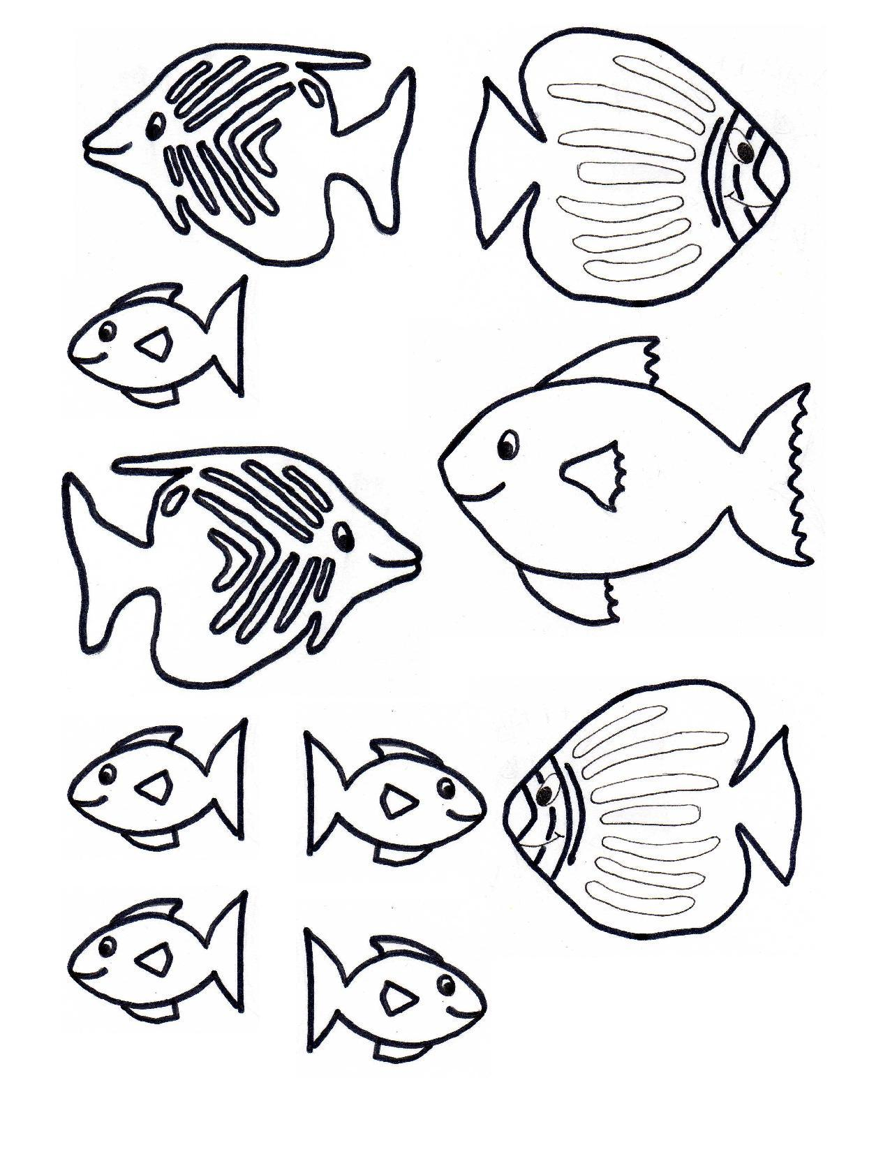 Free Fish Template, Download Free Clip Art, Free Clip Art