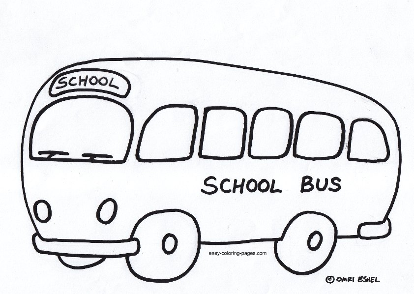 Free Bus Outline, Download Free Clip Art, Free Clip Art on