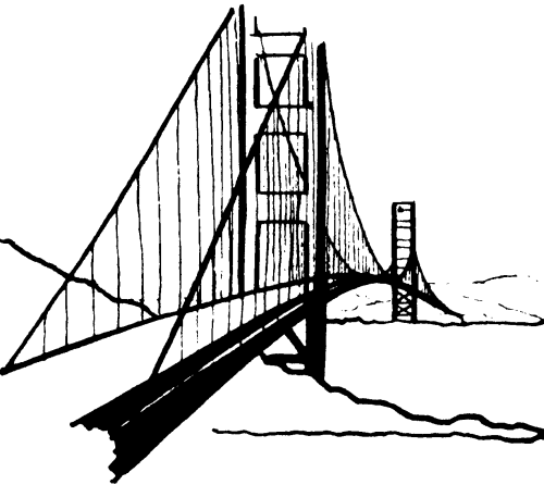small resolution of images for free golden gate bridge clipart