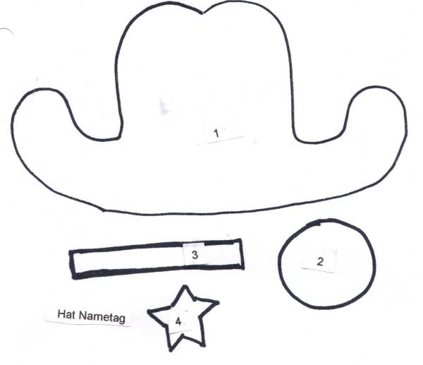 cowboy hat pattern # 33