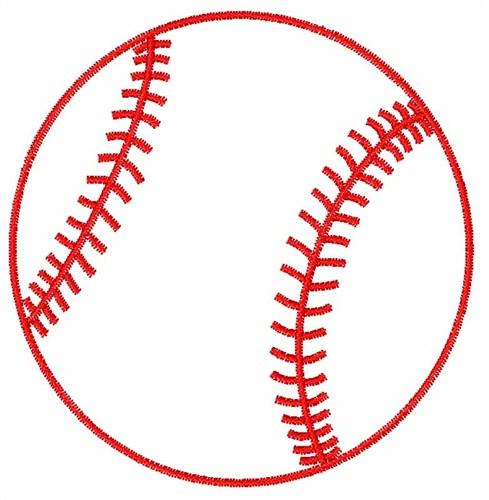 baseball outline clip art cliparts