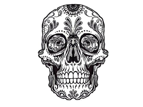 Free Skull Design Clip Art