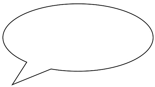 Free Speech Bubble Outline, Download Free Clip Art, Free