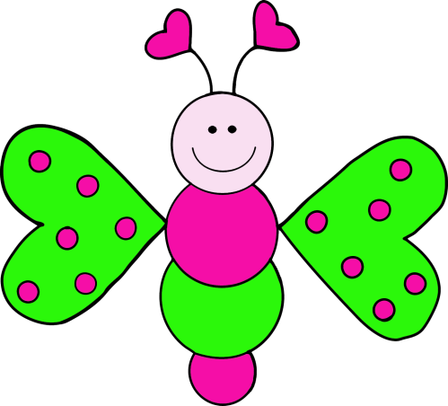 small resolution of granny goes to school love bugs freebie clip art