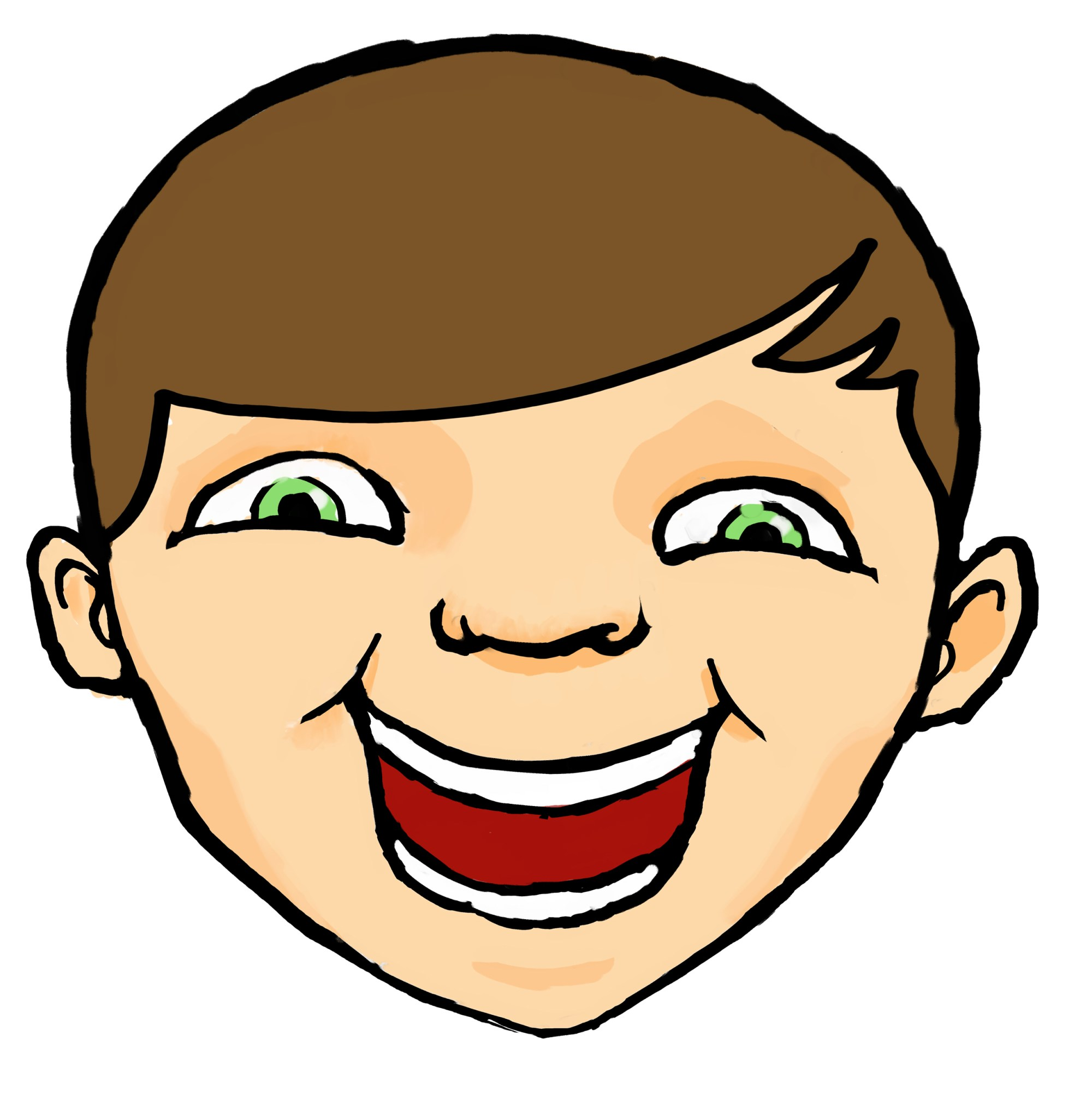 hight resolution of laughing face clip art clipart library