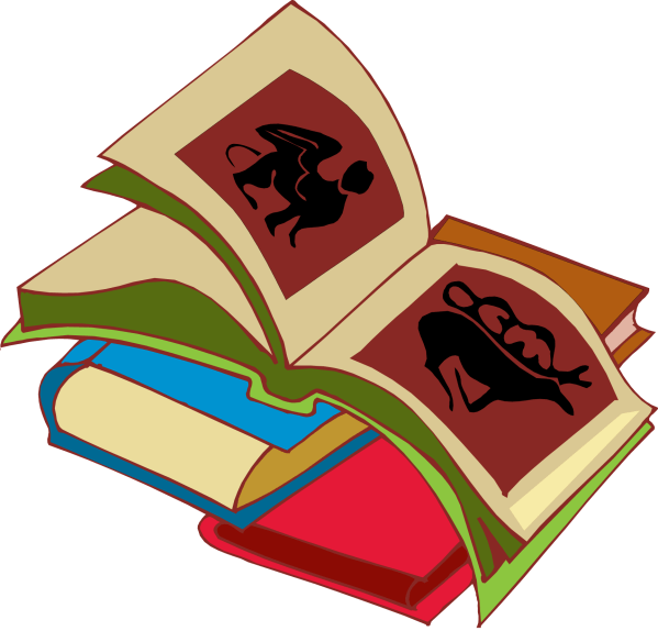 Free Stack Of Books Clipart Clip Art