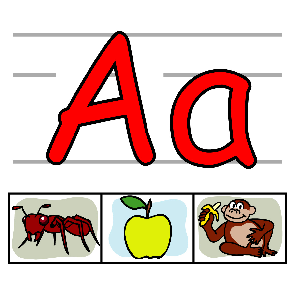 hight resolution of cool letter a clipart library