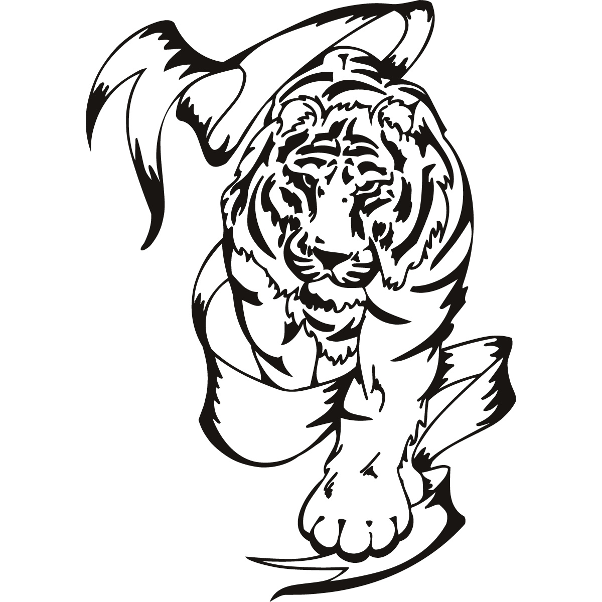 Free Tribal Animal Art Download Free Clip Art Free Clip Art On Clipart Library