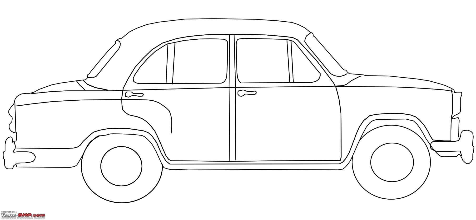 Drawing Pictures Of Cars Picture Car Drawing Outline
