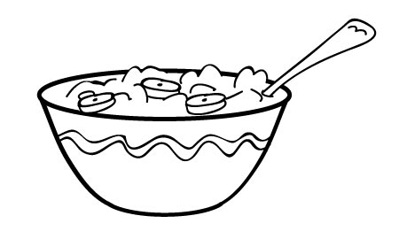 Free Cartoon Cereal Bowl, Download Free Clip Art, Free