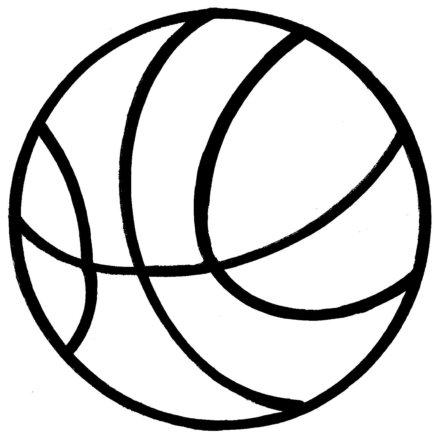 Clip Art Basketball Ball Clipart Library