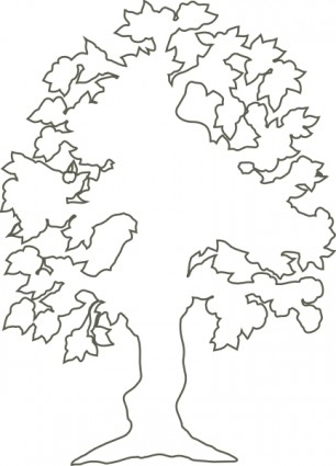 Free Tree Outline, Download Free Clip Art, Free Clip Art