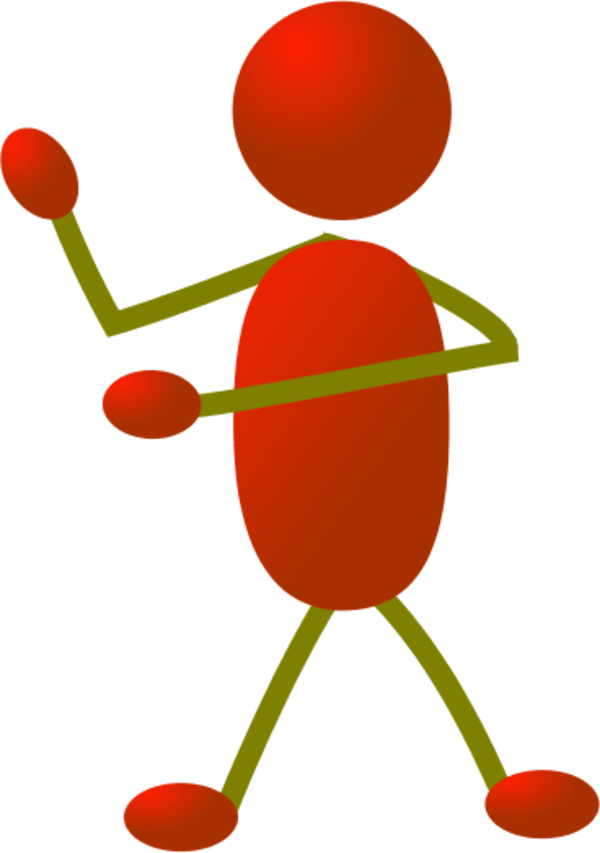 Sad Stick Figure Transparent