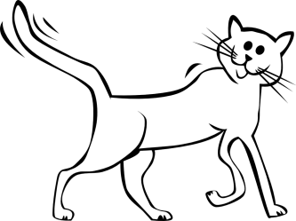 Free Cartoon Black And White Cat Download Free Clip Art Free Clip Art on Clipart Library