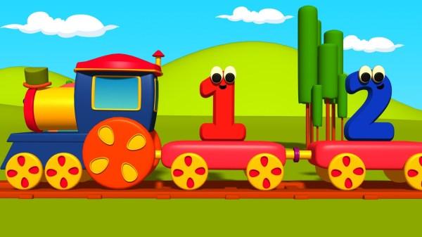 Bob the Train Adventure Number
