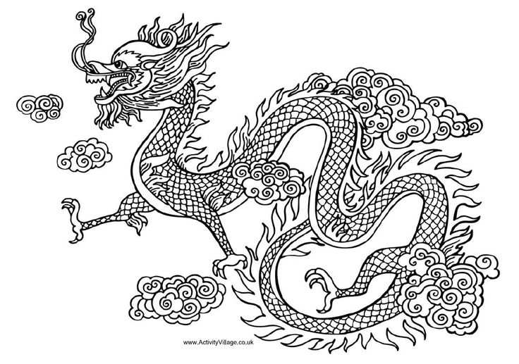 free chinese dragon images