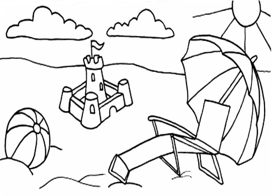 Free Sand Castle Drawing, Download Free Clip Art, Free