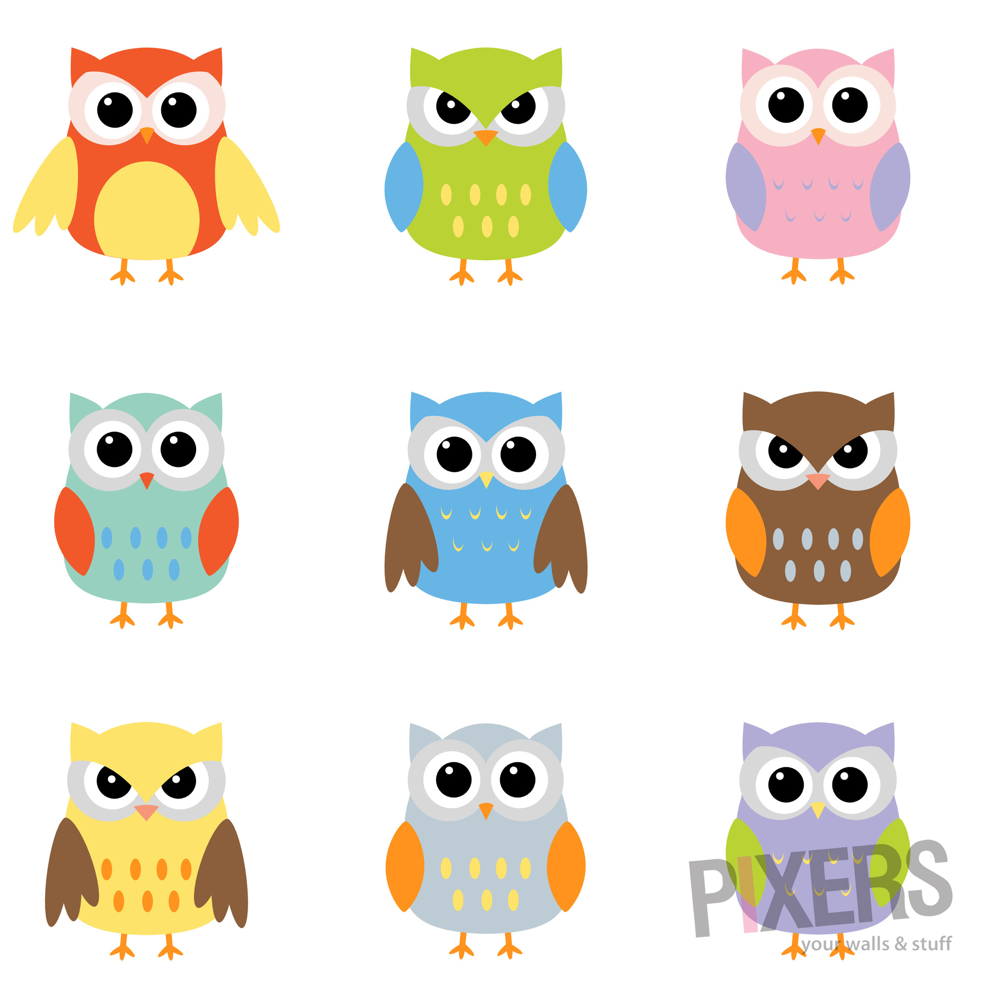 Cute Owl Decor Awesome Owl Decorations For Your Home Pixersize Clip Art