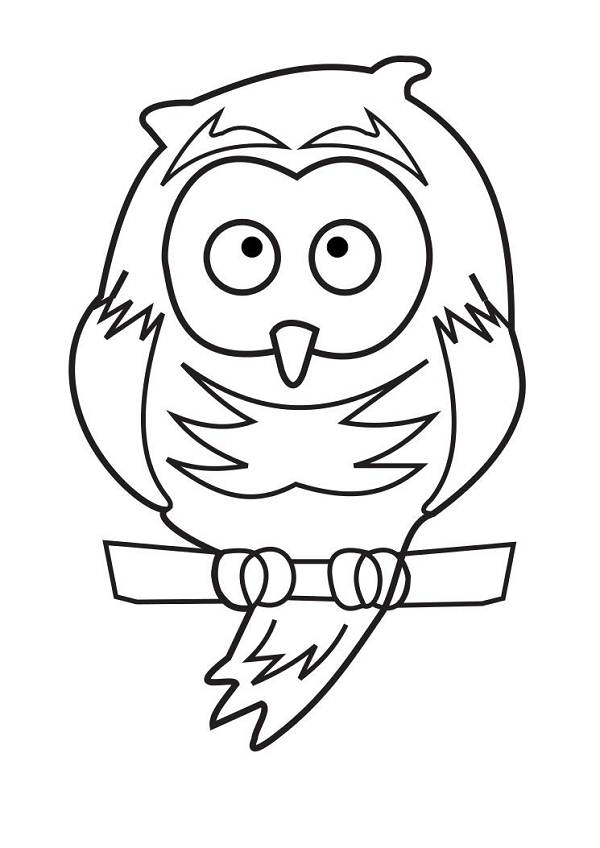Free Outline Of An Owl, Download Free Clip Art, Free Clip