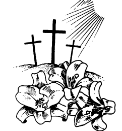 jesus on the cross in black and white clipart library [ 824 x 971 Pixel ]