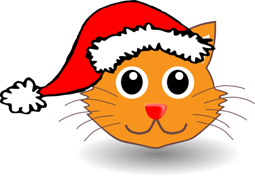 small resolution of xmas stuff for christmas cat cartoon