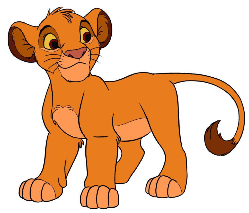 hight resolution of cub simba by base girl on clipart library