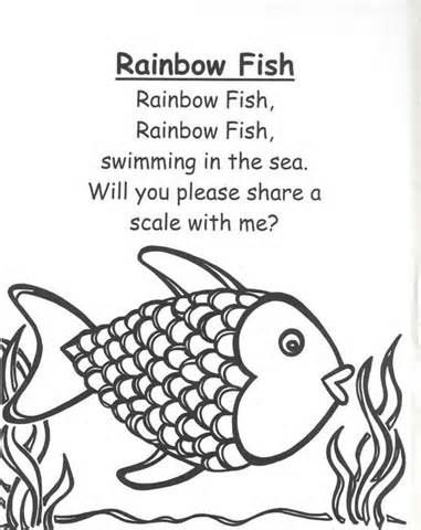 Free Rainbow Fish Template, Download Free Clip Art, Free