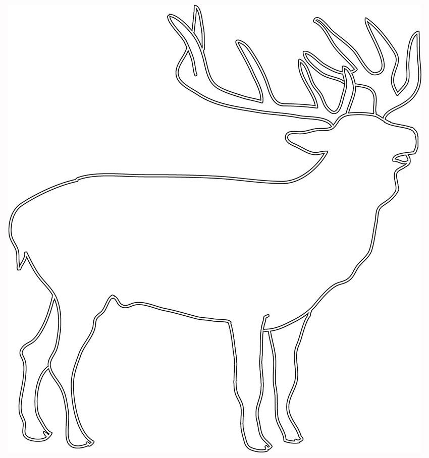 Free Tribal Elk Cliparts Download Free Clip Art Free