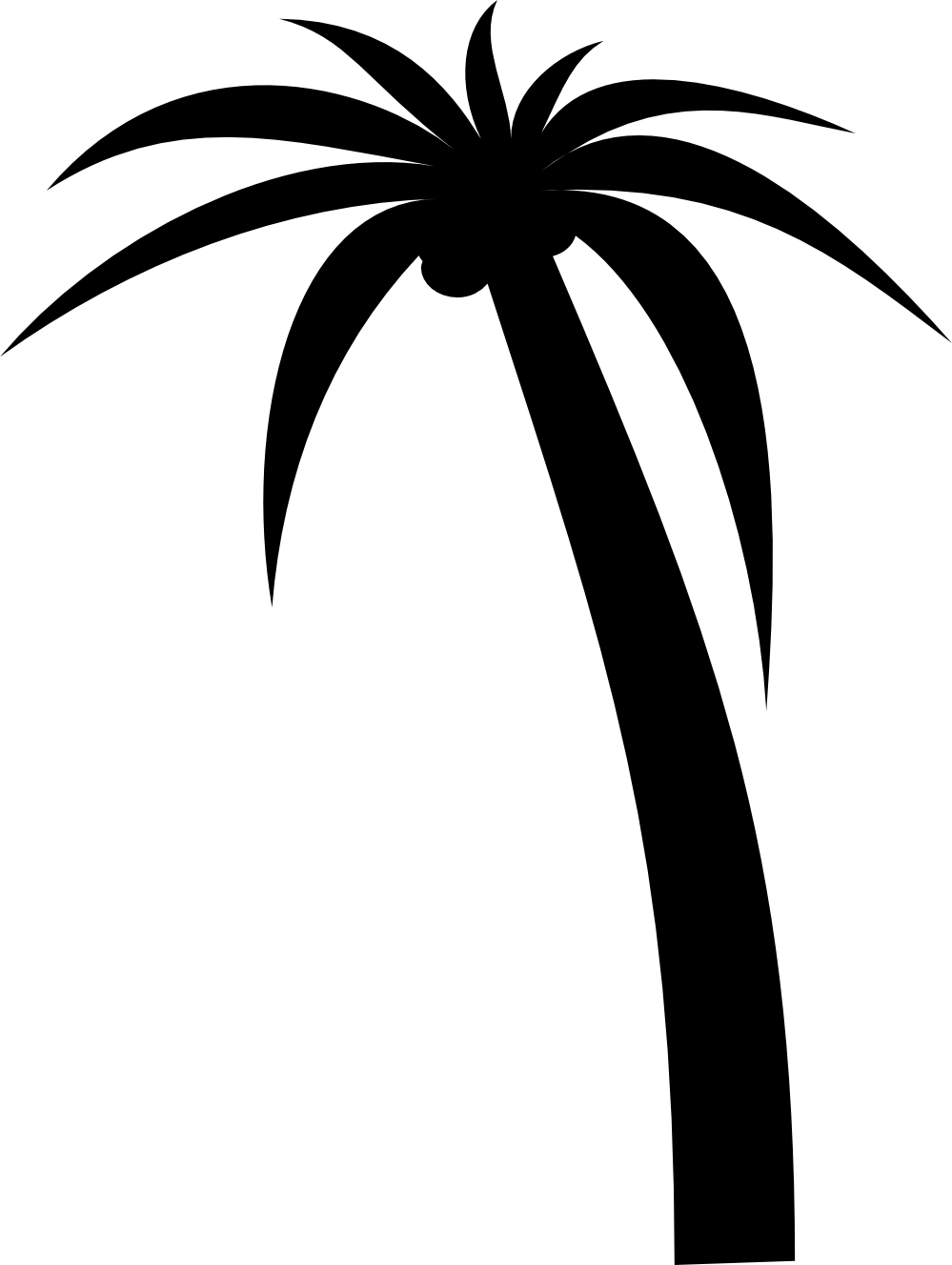 hight resolution of palm tree sunset clipart clipart library free clipart images