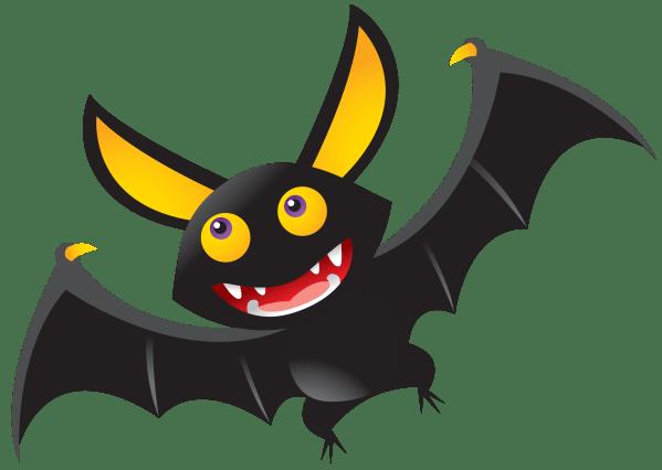 Halloween Cartoon Bats