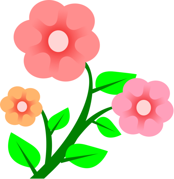 free spring flowers clipart