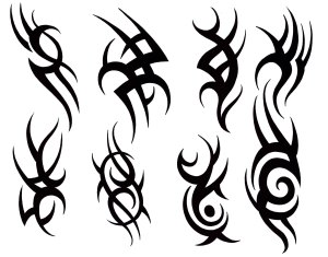 tattoo designs tribal hand simple draw clipart library